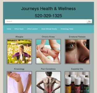 Journeys Health Wellness Tucson clinic 5151 n oracle rd Kinesiology Massage Radiokinesis